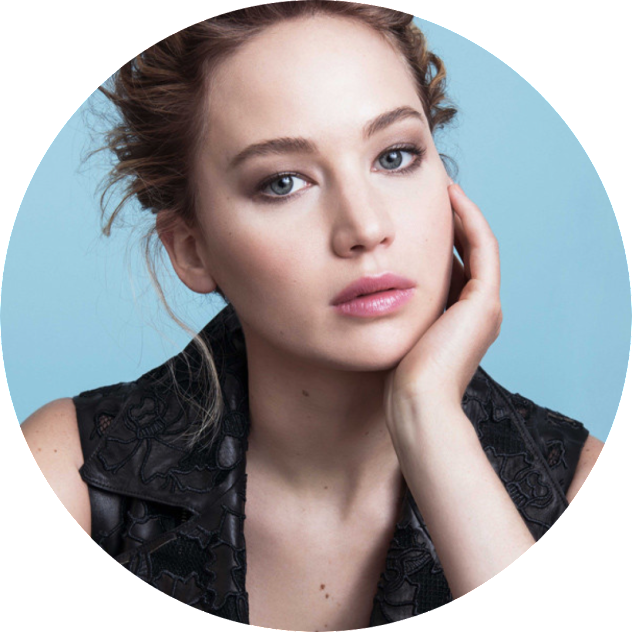 Jennifer Lawrence, JLaw, Sister Circuit, UX / UI Designer, Jade Johnson, Persona, User Experience Research
